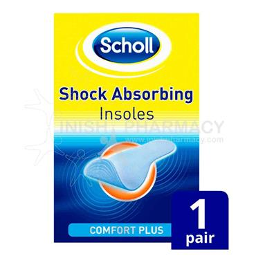 Scholl Shock Absorbing Insoles 1 Pair