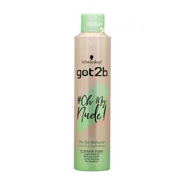 Schwarzkopf Got2b Oh My Nude Dry Flex Spray 300ml