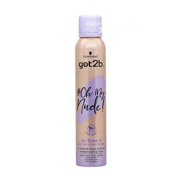Schwarzkopf Got2b Oh My Nude Air Does It Spray Foam Mousse 200ml