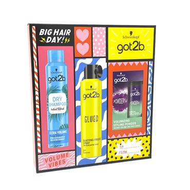 Schwarzkopf Got2b Volume Vibes 3 Piece Gift Set