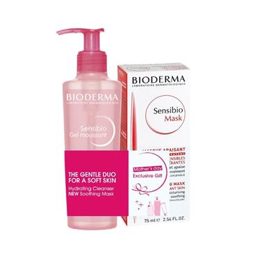 Bioderma Sensibio 'The Gentle Duo' Cleanser & Soothing Mask