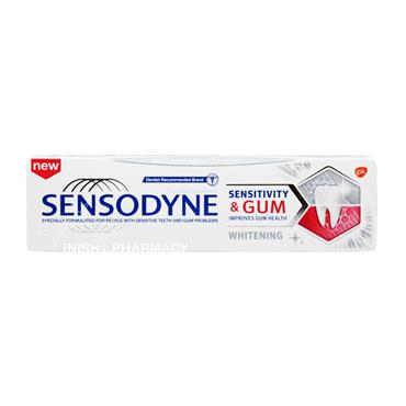 Sensodyne Sensitivity & Gum Whitening Toothpaste 75ml