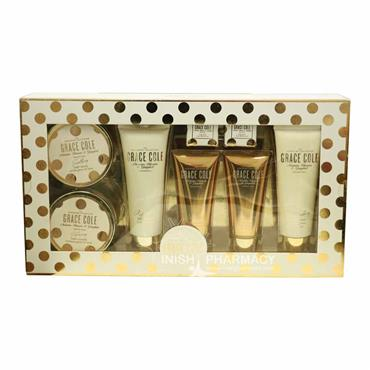 Grace Cole The Signature Collection Nectarine Blossom & Grapefruit 8 Piece Gift Set