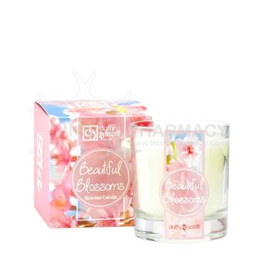 Duffy & Scott Beautiful Blossoms Tumbler Glass Candle 30cl