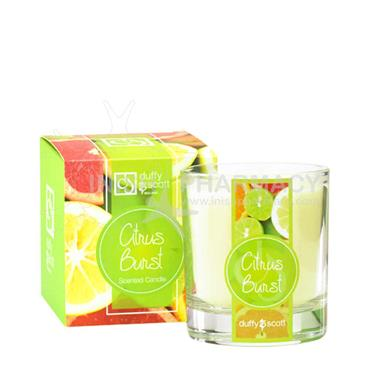 Duffy & Scott Citrus Burst Tumbler Candle 30cl