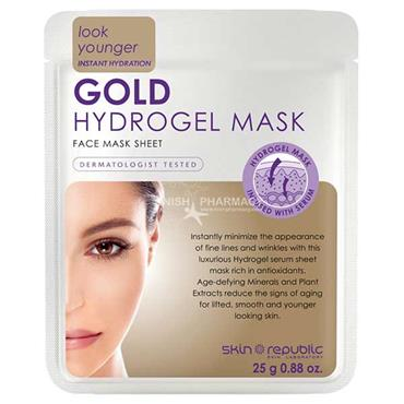 Skin Republic Look Younger Gold Hydrogel Mask 25g
