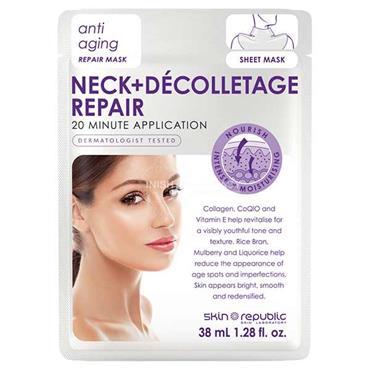 Skin Republic Neck & Decolletage Repair Sheet Mask 38ml