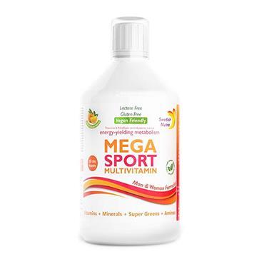 Swedish Nutra Mega Sport Multivitamin 500ml