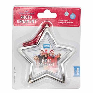 Shot2Go Spinning Christmas Photo Ornament