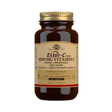 Solgar Ester-C Plus 1000mg Vitamin C 180 Tablets
