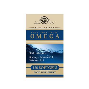 Solgar Wild Alaskan Full Spectrum Omega 120 Softgels