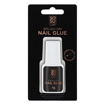 SOSU Brush-On Nail Glue 7g