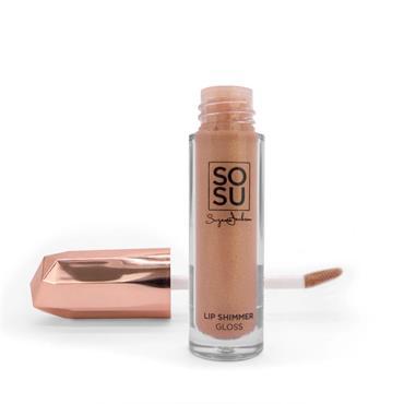 SOSU Lip Shimmer Gloss Kiss & Tell