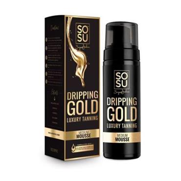 SOSU Dripping Gold Luxury Tanning Mousse Medium 150ml