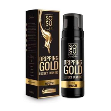 SOSU Dripping Gold Luxury Tanning Mousse Dark 150ml