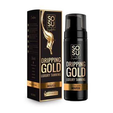 SOSU Dripping Gold Luxury Tanning Mousse Ultra Dark 150ml