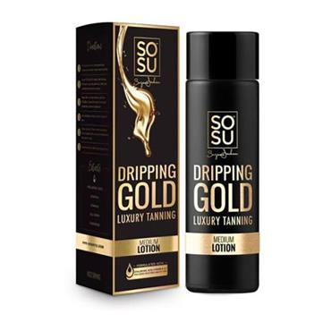 SOSU Dripping Gold Luxury Tanning Lotion Medium 200ml