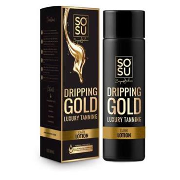 SOSU Dripping Gold Luxury Tanning Lotion Dark 200ml