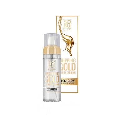 SOSU Dripping Gold Luxury Tanning Fresh Glow Tan Removal Mousse 150ml