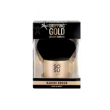 SOSU Luxury Tanning Dripping Gold Kabuki Brush
