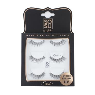 SOSU Sara Eyelashes Triple Pack