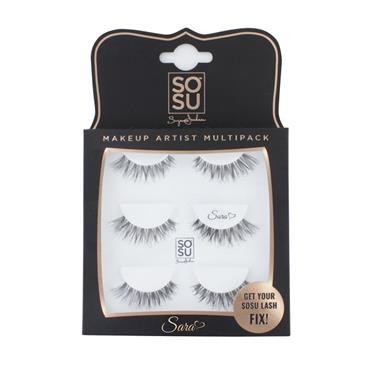 SOSU Sara Eyelashes Triple Pack