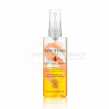 Sanctuary Spa 4 Day Moisture Body Oil Spray 125ml