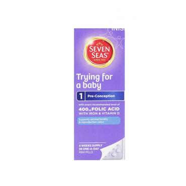 Seven Seas Trying For A Baby Pre-Conception Mini Pills 28 Pack