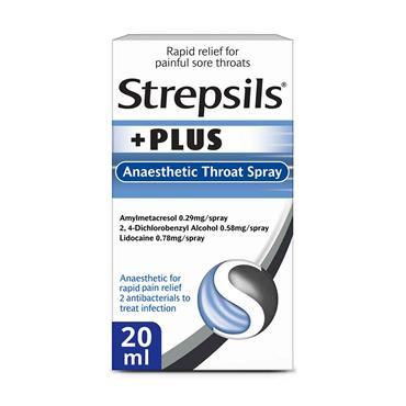 Strepsils Plus Throat Spray 20ml