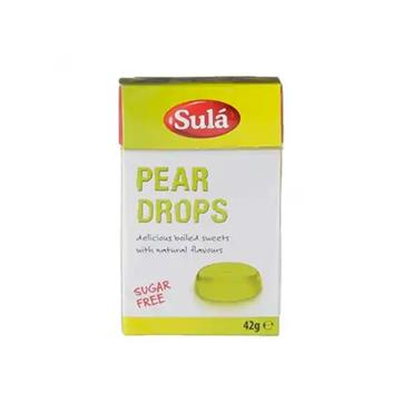 Sula Pear Drops Sugar Free Sweets 42g