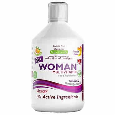 Swedish Nutra Woman Active 50+ Multivitamin 500ml