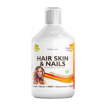 Swedish Nutra Hair Skin & Nails 500ml