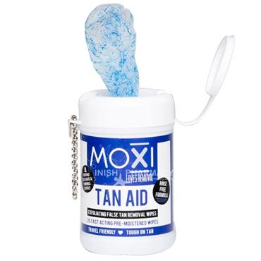 Moxi Tan Aid Tan Removal Wipes 25 Pack