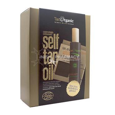 Tanorganic Self  Tan Oil With Free Exfoliator Glove