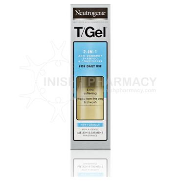 Neutrogena T Gel Anti-Dandruff 2-in1 Shampoo & Conditioner 250ml