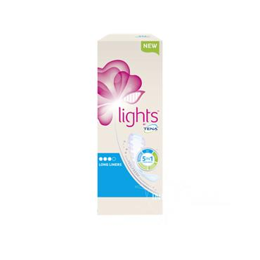Tena Lights Long Liners 20 Pack