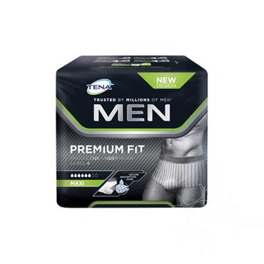Tena Men Premium Fit Protective Underwear Level 4 Maxi Large 8 Pack