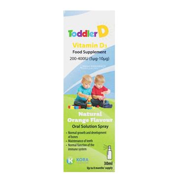 ToddlerD Vitamin D3 200-400iu 30ml