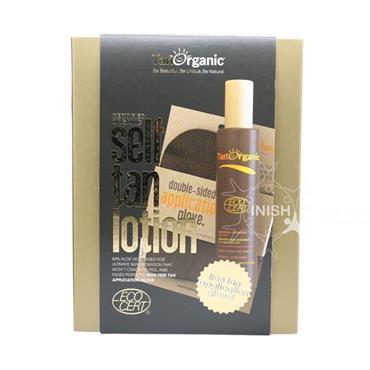 TanOrganic Certified Organic Self Tan Lotion With Free Application Glove Set
