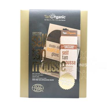 TanOrganic Certified Organic Self Tan Mousse With Free Application Glove Set