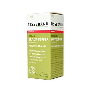 Tisserand Black Pepper Pure Essential Oil 9ml