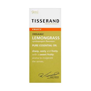 Tisserand Lemongrass Pure Essential Oil 9ml