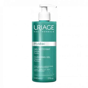 Uriage Hyseac Cleansing Gel For Combination To Oily Skin 500ml