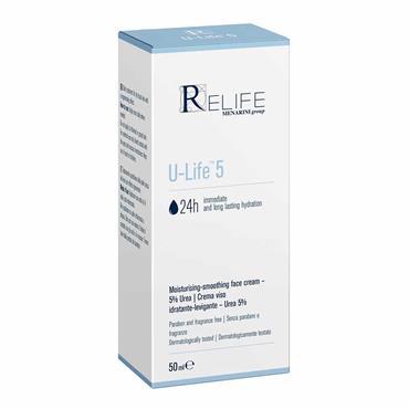 Relife U-Life 5 Moisturising-Smoothing Face Cream 50ml