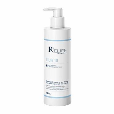 Relife U-Life 10 Moisturising Body Cream 400ml