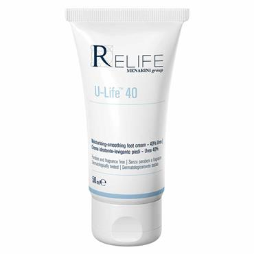 Relife U-Life 40 Moisturising-Smoothing Foot Cream 50ml