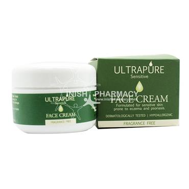 ULTRAPURE Sensitive Face Cream Fragrance Free 50ml