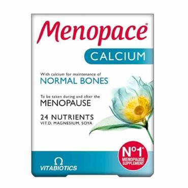 Vitabiotics Menopace with Calcium 60 Pack