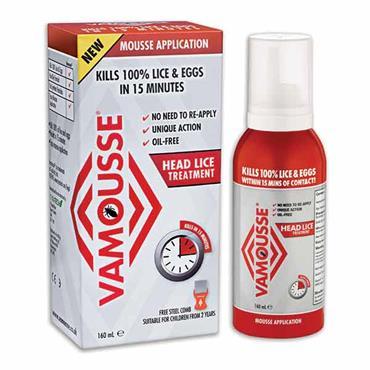 Vamousse Head Lice Treatment 160ml