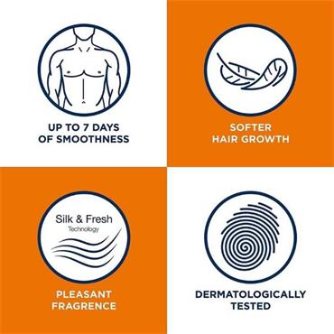 Veet Men Hair Removal Cream Chest & Body 200ml